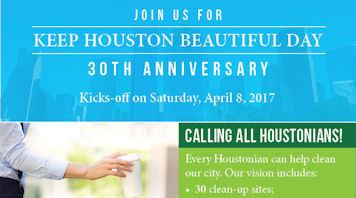 Keep Houston Beautiful Day 2017